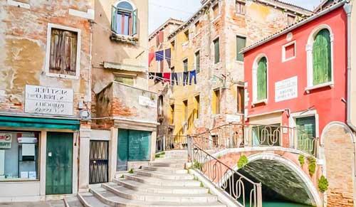 Venecia donde alojarse en San Polo