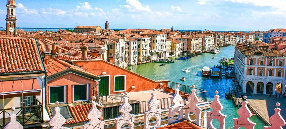 Información turística sobre Venecia