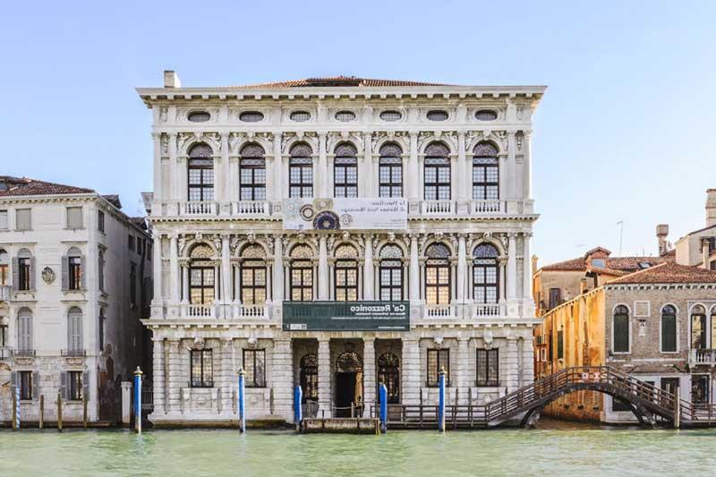Palacio de Venecia que alberga el Museo de Settecento Veneziano